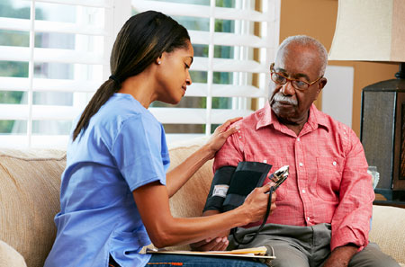 Haitian Creole Home Care Worker