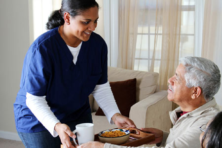 Spanish Home Care Worker