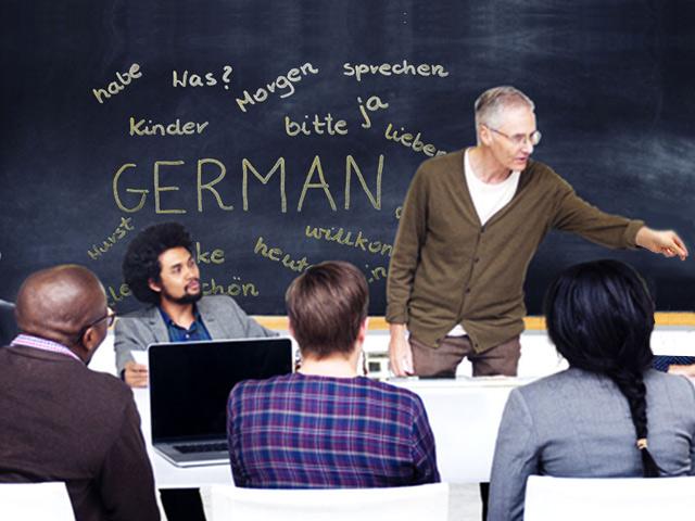 German Language Classes On-site