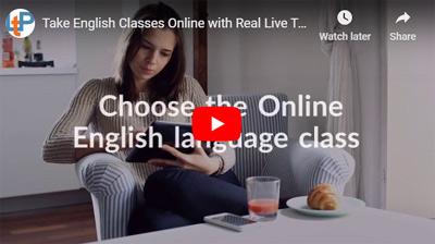 Take English Classes Online with Live Teachers